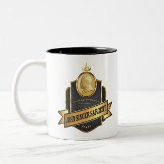 John Singer Sargent Label Mug