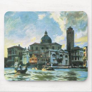 John Singer Sargent - labias Venecia de Palazzo Alfombrillas De Ratón