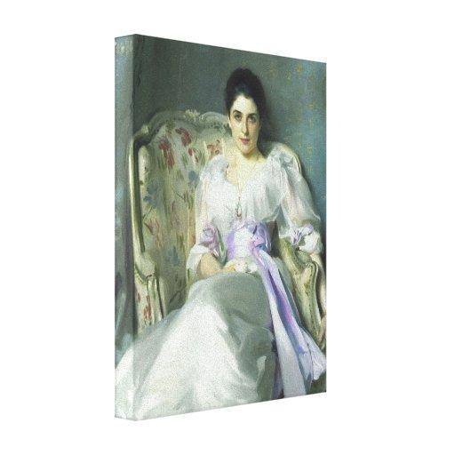 John Singer Sargent Lady Agnew Canvas Print