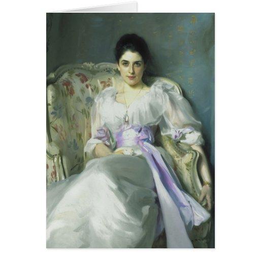 John Singer Sargent Lady Agnew Card