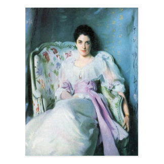 John Singer Sargent - Lady Agnew Postcard