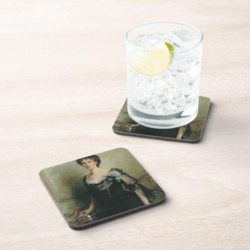 John Singer Sargent- Lady Evelyn Cavendish Beverage Coaster