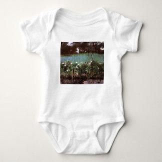 John Singer Sargent- Landscape with Rose Trellis Baby Bodysuit