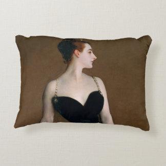 John Singer Sargent Madame X Portrait Art Painting Accent Pillow