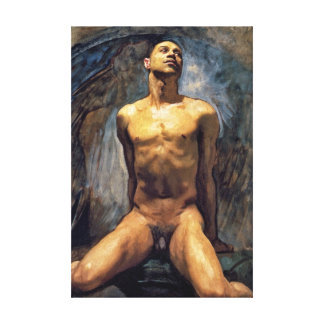 John Singer Sargent - Male Study Canvas Print