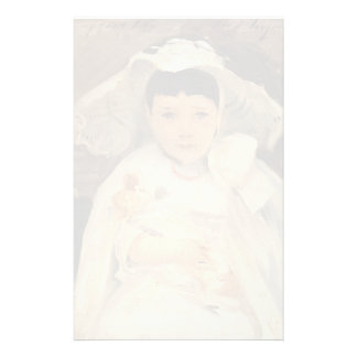 John Singer Sargent- Marian (Madge) Roller Personalized Stationery