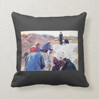 John Singer Sargent: Mending a Sail Pillow