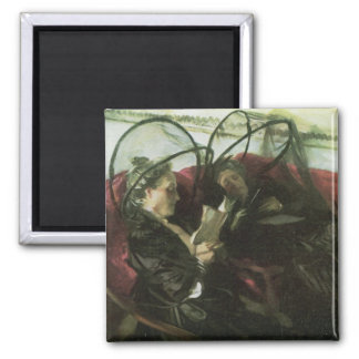John Singer Sargent - Mosquito nets 2 Inch Square Magnet