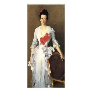 John Singer Sargent- Mrs. Archibald Douglas Dick Customized Rack Card