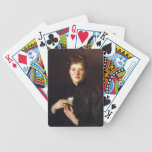 John Singer Sargent- Mrs. Augustus Hemenway Bicycle Card Deck