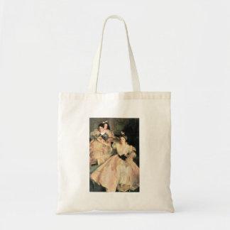 John Singer Sargent - Mrs Carl Meyer and Her Child Budget Tote Bag