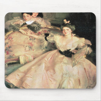 John Singer Sargent - Mrs Carl Meyer and Her Child Mouse Pad