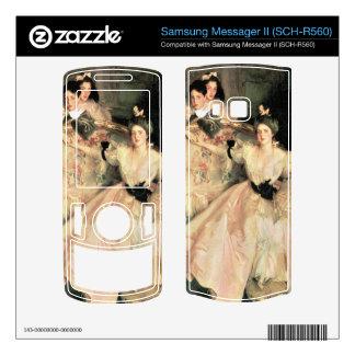 John Singer Sargent - Mrs Carl Meyer and Her Child Samsung Messager II Skin