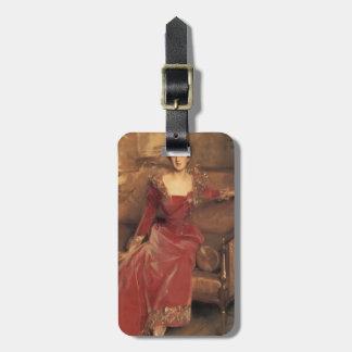 John Singer Sargent- Mrs. Hugh Hammersley Tags For Luggage