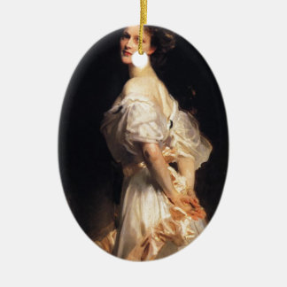 John Singer Sargent - Nancy Astor Ceramic Ornament