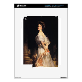John Singer Sargent - Nancy Astor Decal For iPad 3