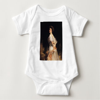 John Singer Sargent - Nancy Astor - Fine Art Baby Bodysuit