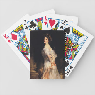 John Singer Sargent - Nancy Astor - Fine Art Bicycle Playing Cards