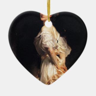 John Singer Sargent - Nancy Astor - Fine Art Ceramic Ornament