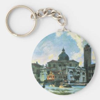 John Singer Sargent - Palazzo Labia Venice Key Chains