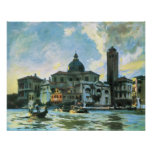 John Singer Sargent - Palazzo Labia, Venice Posters