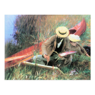 John Singer Sargent - Paul Helleu stands with his Post Card