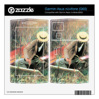 John Singer Sargent - Paul Helleu stands with his Garmin Asus Nuvifone Skins