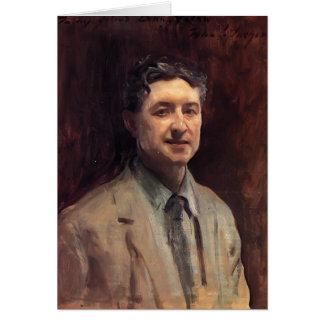 John Singer Sargent- Portrait of Daniel J. Nolan Greeting Card