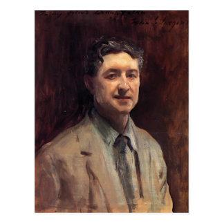 John Singer Sargent- Portrait of Daniel J. Nolan Postcard
