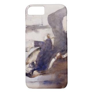 John Singer Sargent -Portrait of Paul-Cesar Helleu iPhone 7 Case
