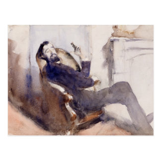 John Singer Sargent -Portrait of Paul-Cesar Helleu Postcard