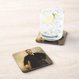 John Singer Sargent-Portrait of Theodore Roosevelt Coasters