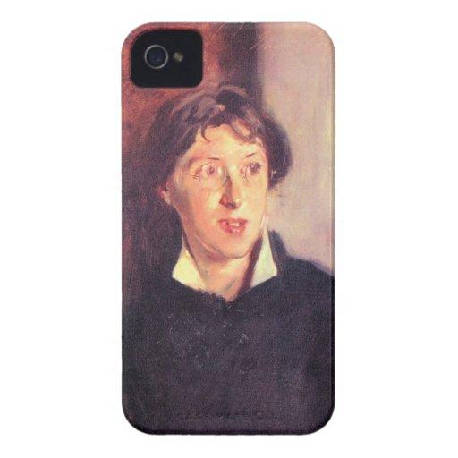 John Singer Sargent - Portrait of Vernon Lee iPhone 4 Covers