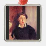 John Singer Sargent - Portrait of Vernon Lee Christmas Ornament