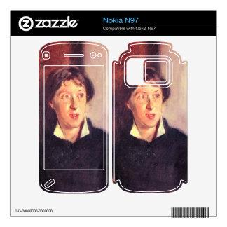 John Singer Sargent - Portrait of Vernon Lee Decals For The Nokia N97
