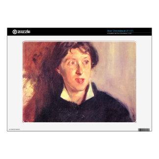 John Singer Sargent - Portrait of Vernon Lee Acer Chromebook Decals