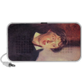 John Singer Sargent - Portrait of Vernon Lee Portable Speaker