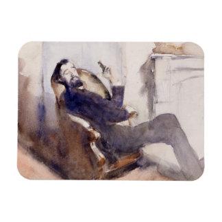 John Singer Sargent - retrato de Paul-Cesar Helleu Iman De Vinilo