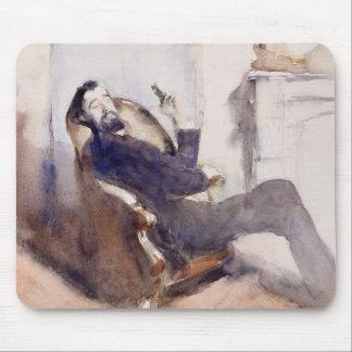 John Singer Sargent - retrato de Paul-Cesar Helleu Mouse Pads