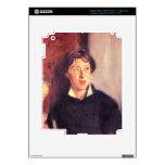 John Singer Sargent - retrato de Vernon Lee iPad 3 Pegatinas Skins