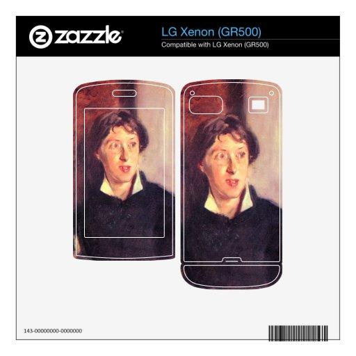 John Singer Sargent - retrato de Vernon Lee Calcomanía Para LG Xenon