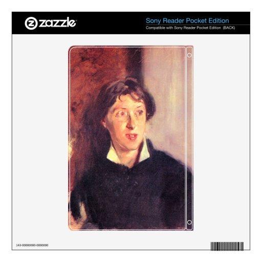 John Singer Sargent - retrato de Vernon Lee Sony Reader Skin