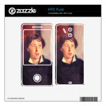 John Singer Sargent - retrato de Vernon Lee Skins Para HTC Fuze