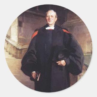John Singer Sargent- Reverend Edmond Ware Round Stickers