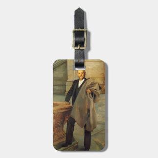 John Singer Sargent- Richard Morris Hunt Luggage Tags