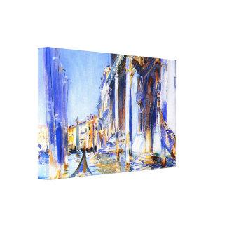 John Singer Sargent Rio dell'Angelo Venice Canvas Print