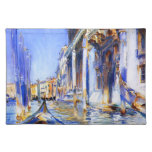 John Singer Sargent Rio dell'Angelo Venice Cloth Placemat