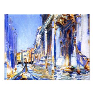 John Singer Sargent Rio dell'Angelo Venice Invite