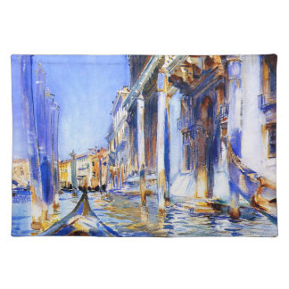 John Singer Sargent Rio dell'Angelo Venice Placemats