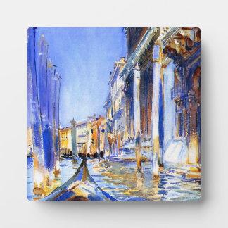 John Singer Sargent Rio dell'Angelo Venice Photo Plaque